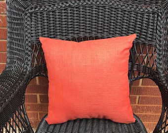Rave Coral Pillow Water Resistant