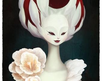 Duchess Portrait, 8x12 print