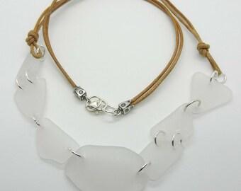 Handmade Beach Glass Necklace - Prima Donna Beads