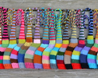 Newborn Baby Knit Hat PHoTO PRoP Long Tail Stripe Stocking Cap Girl Boy FuNky EtHNiC BoHo ToQUe Unisex TiNKeR BeANie Coming Home PiCK CoLOR