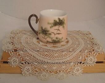 Vintage Child-Size Handpainted Porcelain Cup