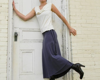 Full Length Wrap Skirt (Soy or Bamboo Organic Cotton)