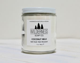 Coconut Milk Bath Soak, Natural Bath Soak, Vegan Bath Soak, Handmade Bath Soak