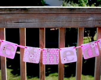 Wedding Save the Date - Pink Wedding Banner