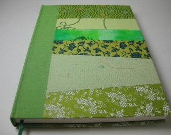 Voyage Book Travel Diary Scetchbook  Collage Handbound Journal