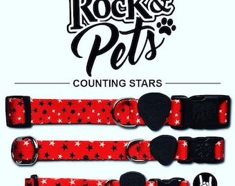 Personalized Collar Design Counting Stars
