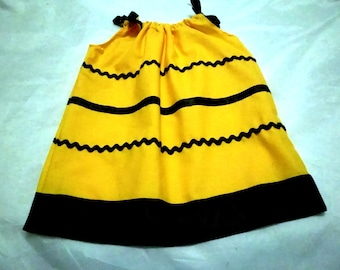 HALLOWEEN BUSY  Bee Dress and Wings Set