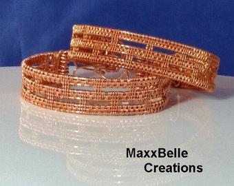 TUTORIAL - Colosseum Wire Weave Bracelet