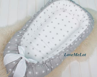 Double sided Baby Nest, babynest for the newborn, sleep bed, cot, sleep Nest, co sleeper, nest bed, baby nest, babynest, naps, bumpers