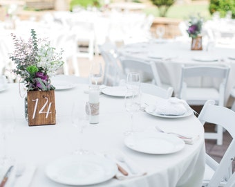 Wedding Table Numbers, Wood Table Numbers, Table Numbers Wedding, Wedding Signs, Rustic Wedding, Single Table Number