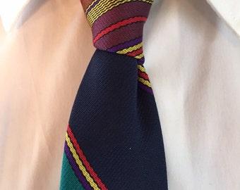 Vintage mens stripped necktie.