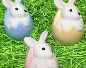 Easter bunny soap Easter soap Easter basket idea Easter favors Kids soap Easter gift Easter treat Bunny soap Soap Easter favors