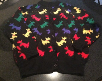 Vintage Women's Charter Club Wool Sweater Made in England