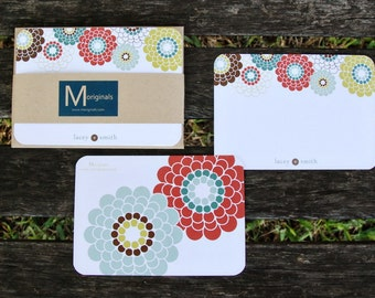 Personalized Notecards - Set of 8 - The Lacey Card