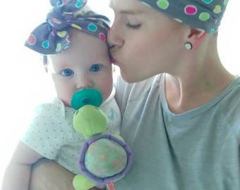 Mommy+Me headband set