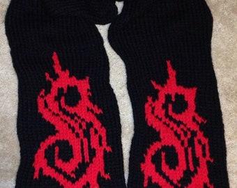 Custom Knitted Scarf