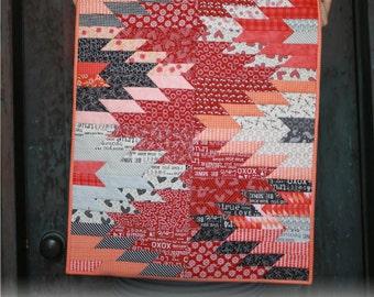 Fierce Weftovers Mini Quilt Pattern