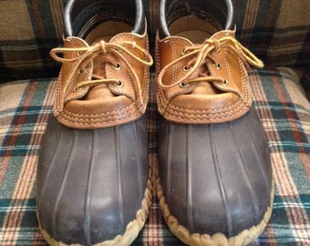Vintage L.L. BEAN Maine Hunting Shoes sz 10 Mens Bean Boots Vintage GUMSHOES