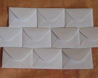 "Tiny White Envelopes 50 Envelopes 1.5"" x 2"" Seed Envelopes Wedding Favors Confetti Packets Tiny Favor Envelopes Wedding Envelopes"