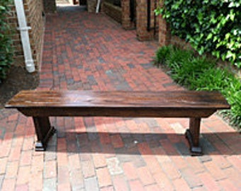 Classic Farm Bench from Reclaimed Barn Wood