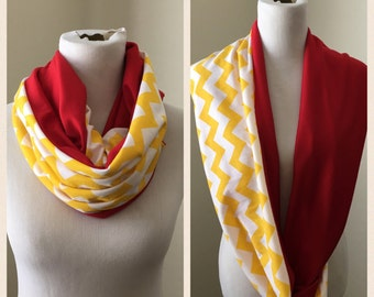 Yellow and red- Kansas City Chiefs