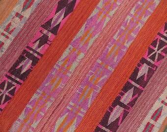 Peruvian Rug // Frazada  // wool rug // handwoven rug //folk art