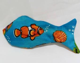 Catnip Cat Toy - Fish-A-Live - Cat Toy - Premium Catnip Toy - Handmade