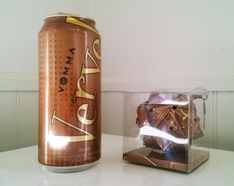 Vemma Verve Mocha Energy Drink Can Origami Ornament.  Upcycled Recycled Repurposed Art
