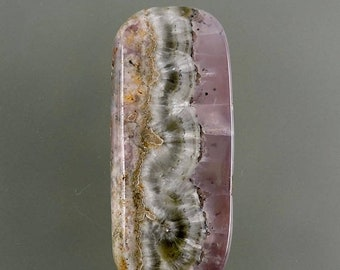 ON SALE Smithsonite Cabochon, Smithsonite Cab, Lavender Pink Cab, Designer Smithsonite, Pendant Cab, Gift Cab, C2325, Handcrafted by 49erMin