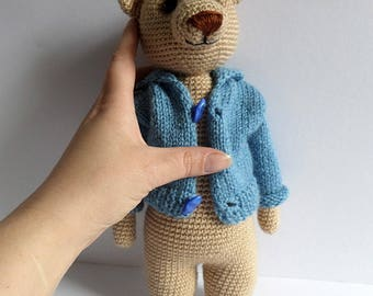 Amigurumi toy,Crocheted toy,Amigurumi teddy,bear,gift idea,for children,handmade