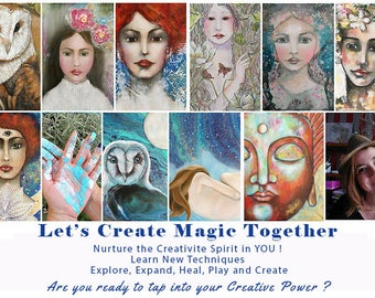 Online Creative / Painting Program - 1 month