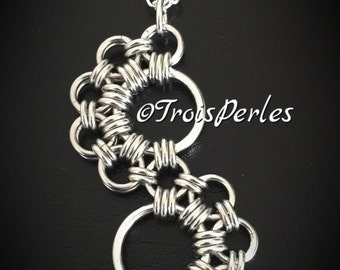Chain Maille counterpart - Chainmaille necklace