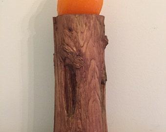 Woodland Log Shop Display Collectible Display Craft Display Wood Carver Display at A Vintage Revolution