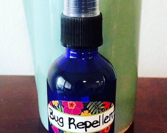 All Natural Bug Repellent with 100% Pure Therapeutic Grade Essential Oils - DEET FREE