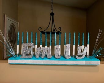 COMPLETE Candle board / Candelabra