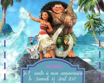 """Thomas"" birthday invitation card"