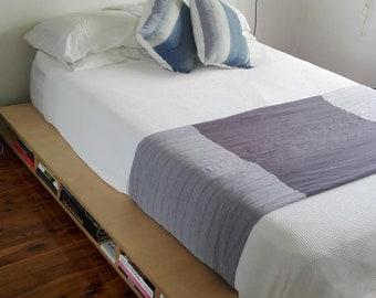 Plywood Podium Bed