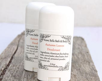 Deodorant, All Natural Deodorant, Travel Size, Scented Deodorant, Natural Baking Soda,  Gifts for Her, Beauty and Bath, Home and Living