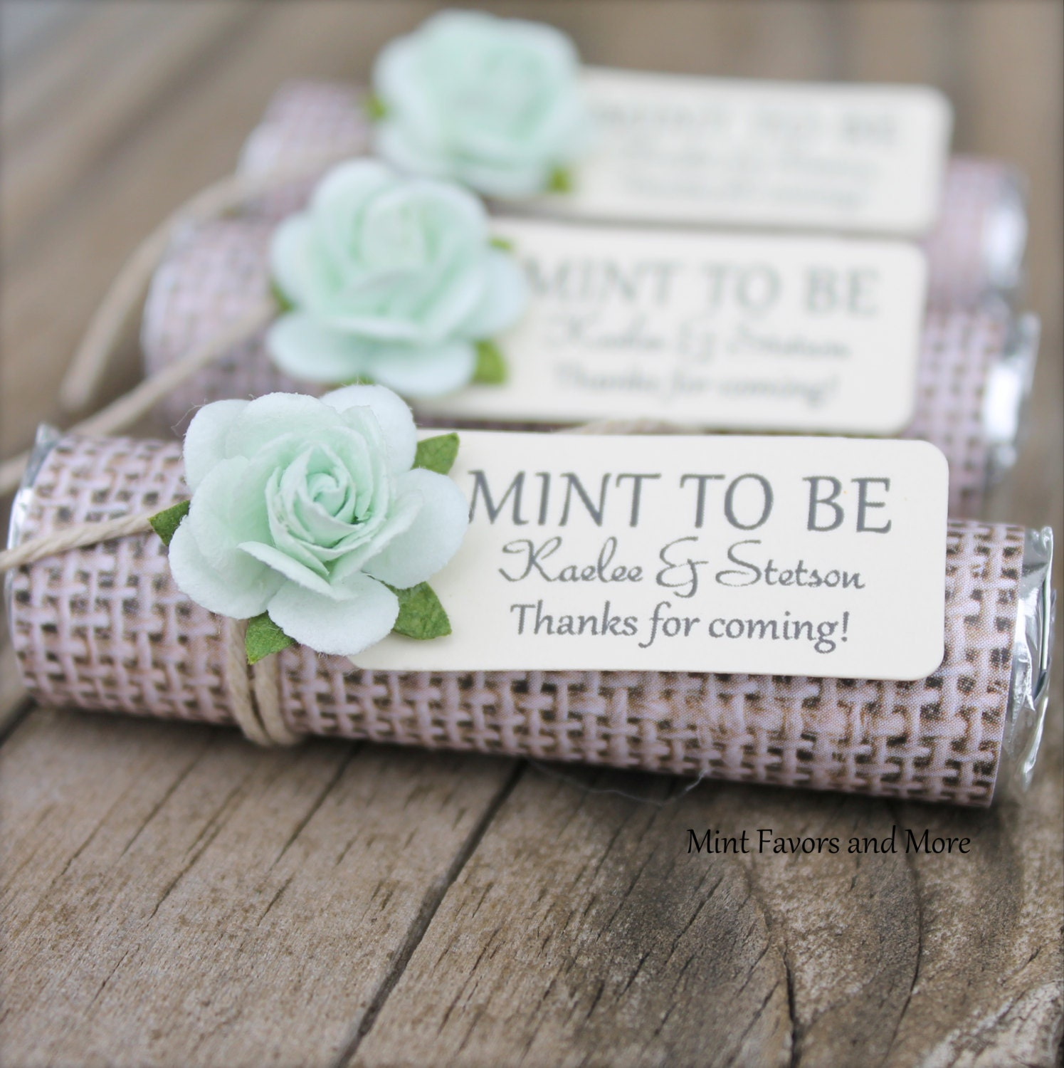 Dorable Wedding Mints Favors Crest - The Wedding Ideas ...