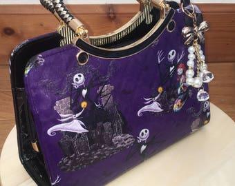 Custom made the nightmare before Christmas handbag
