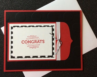 Congratulations, Friend, Handmade, stampin up, card