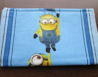 Disney Wallet, Minimalist Wallet, Business Card Holder, Travel Wallet, Credit Card Wallet, Card Case, Small Wallet, Minions Birthday Party