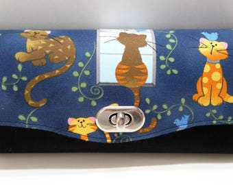Window Cat Necessary Cluth Wallet NCW