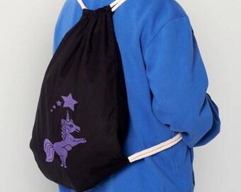 "Gymsack ""unicorn"" Fair Trade Organic"