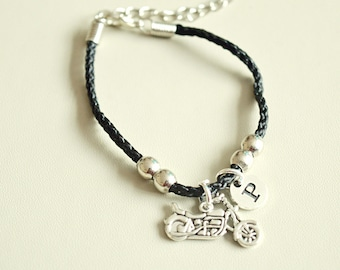 Motorcycle Bracelet, Motorcycle Gifts, Motorcycle Jewellery, Motorbike Bracelet, Biker bracelet, Motorbike Gifts, Boyfriend, Biker Birthday