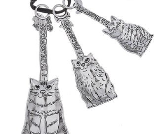 Measuring Spoons - Cats