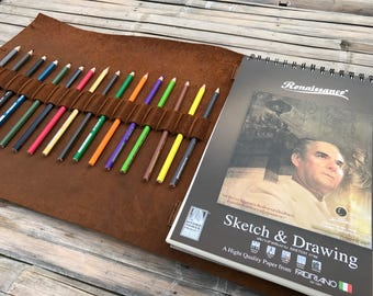 Personalized Sketchbook // Personalized Leather Sketchbook // Sketchbook // Drawing Sketchbook // Notebook // Sketch book