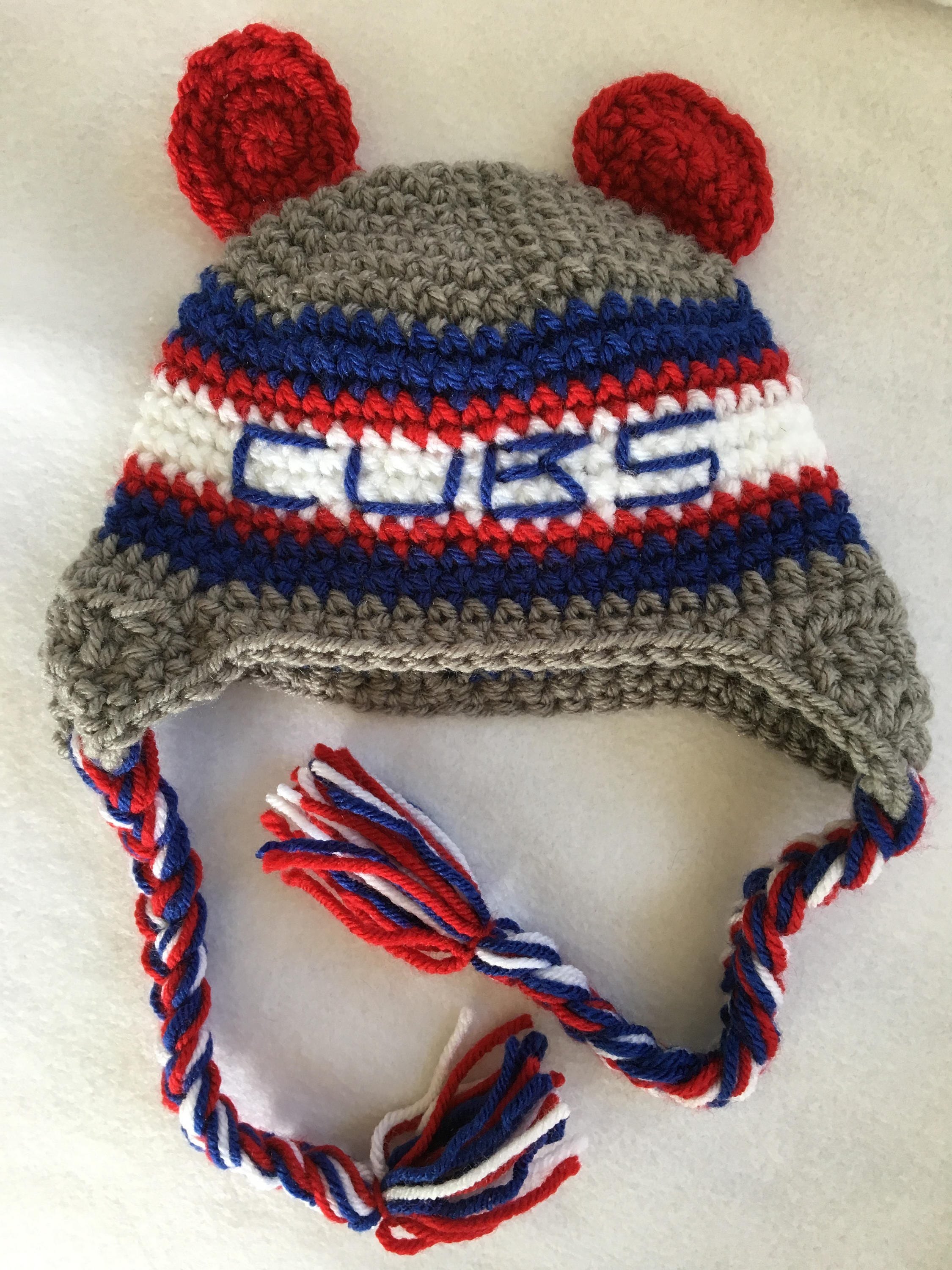 Baby Shower Gift Crochet Chicago Baby Baseball Baby Cubs Baby