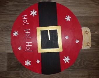 Santa Christmas Ornament Door Hanger