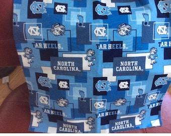 North Carolina Tar Heels throw pillow